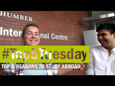 #Top5Tuesday ~ Top 5 Reasons to Study Abroad