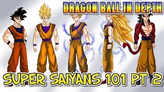 Super Saiyan Transformations Explained Part II
