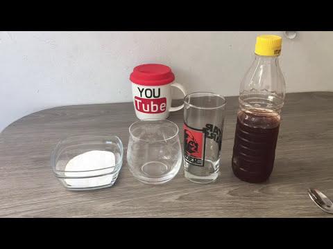 Evde Yanardağ Nasıl Yapılır-Karbonat ve Sirke Deneyi