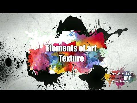 Elements Of Art - Texture - Patreon.com/EpicArtAcademy