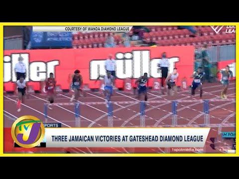 3 Jamaican Victories at Gateshead Diamond League - July 13 2021