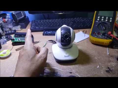 EasyN IP-camera repair solved, memperbaiki IP wifi camera