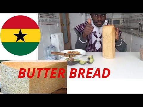 Ghana Butter Bread Recipe