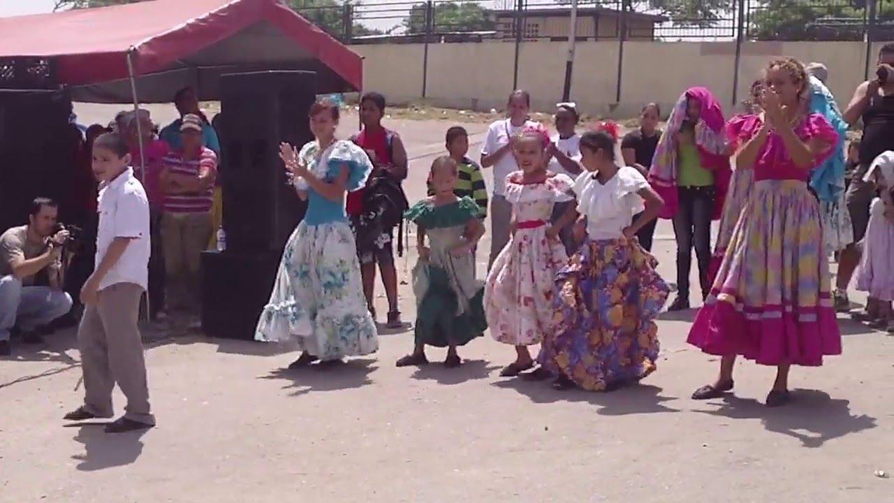 El Garrote en La Batalla del Tamunangue Larense mostrado por niños ...