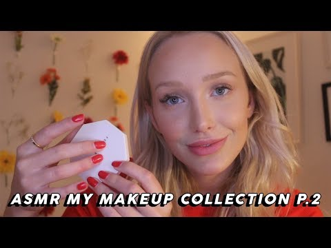 ASMR Makeup Collection Show And Tell Part Two (Tapping, Lid Sounds…) | GwenGwiz thumbnail