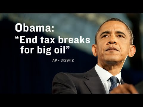 Obama: end tax breaks for big oil & promote clean energy - Get the facts at BarackObama.com/BigOil