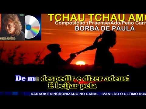 Tchau Tchau Amor  -  Borba de Paula  -  karaoke
