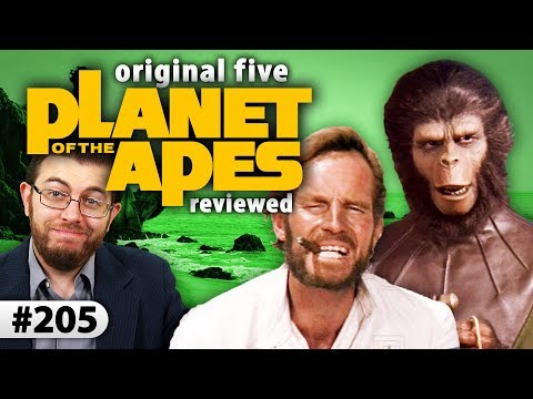 Review Of The PLANET OF THE APES Franchise (Original 5 Films)
