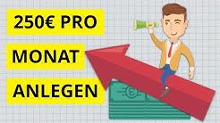 So würde ich 250€ pro Monat investieren - Consorsbank #SparplanOffensive