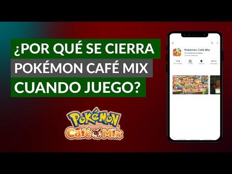 ¿Por qué se me Cierra Pokemon Café Mix Cuando Estoy Jugando? - Solución