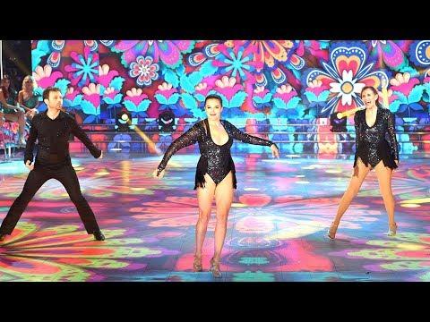 Dan Breitman bailó Salsa de a tres junto a Sofía Pachano y Ana Sans