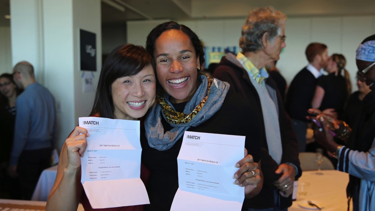 UCSF School of Medicine Match Day 2017 - Providing Equal Care For All