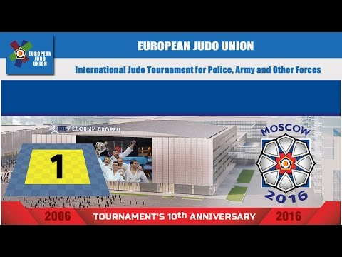 International Judo Tournament for Police, Army and Other Forces 2016 - MAT 1