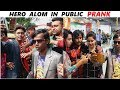 Real HERO ALOM In Public| Crazzy Reactions|Prank in India|FunkyTV|