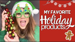 My 5 Favorite Holiday Products | Krysten's Kitchen