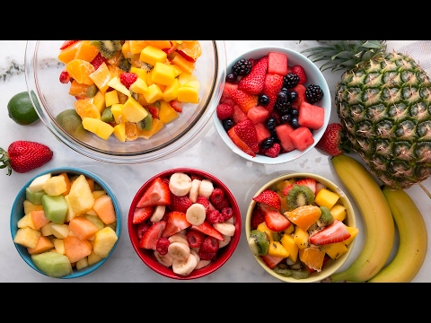 Fruit Salad 4 Ways
