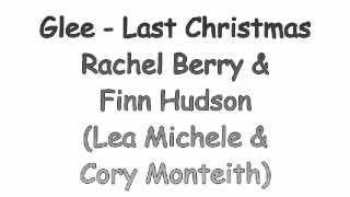 Glee - Last Christmas (lyrics & traduccion en español)