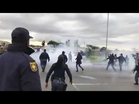 Police deployment in South Africa