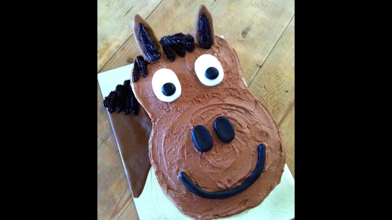 How To Make A Harriet Horse Birthday Cake Youtube