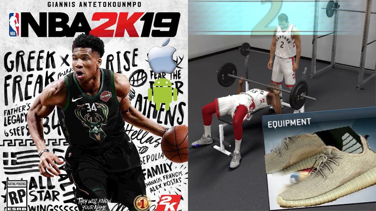 348990af929 NBA 2K19 IOS/ANDROID Improved GAMEPLAY Graphics, New SHOES, Accessories And  Hairstyles Wishlist#2