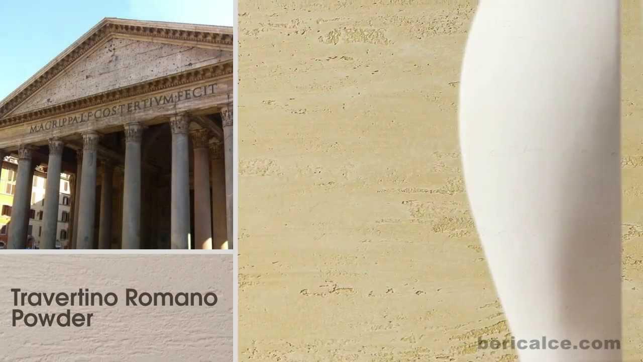 Travertino Romano Powder by Luxury&Lime   Decorative Lime Plaster ...