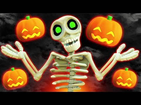 THE SPIRIT OF HALLOWEEN | Spooky Halloween Songs For Children | Nursery Rhymes | All Babies Channel