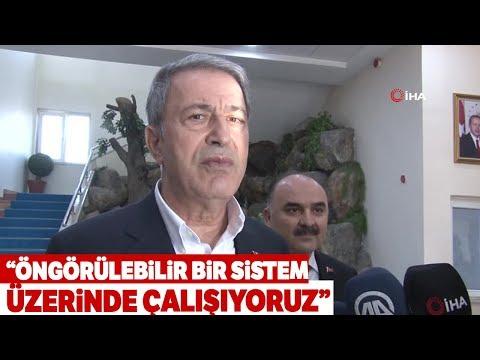 Milli Savunma Bakanı Akar'dan Askerlik Sistemi İle İlgili Açıklama