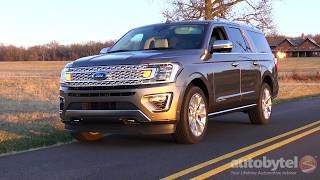 2018 Ford Expedition Max Platinum 4x4 Test Drive Video Review