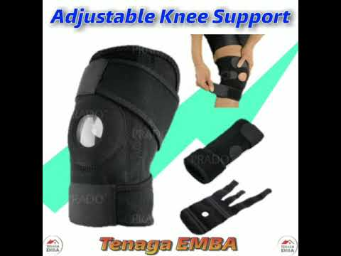 Grade A 4 Spring Adjustable Knee Support Protect Guard Sport.