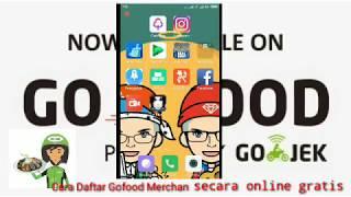 Cara daftar Gofood via online gratis