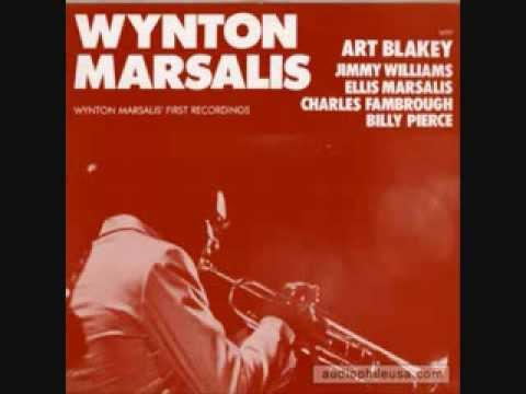 Wynton Marsalis' first recordings