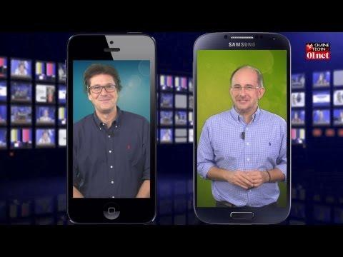 [Test] Je suis iPhone 5S, je suis Galaxy S4