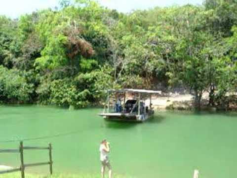 Crank barge, Belize