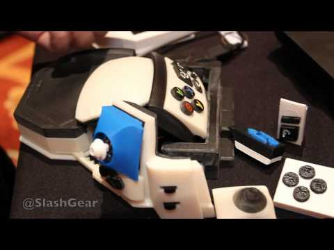 Sinister hybrid PC gamepad hands-on