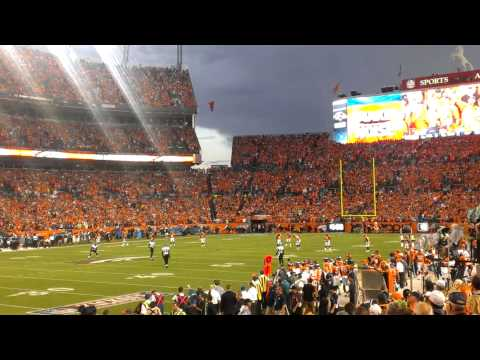 Opening kickoff to the 2013 NFL season