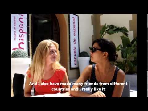 Video de Hispania, escuela de español (Yrsa van der Kleij)