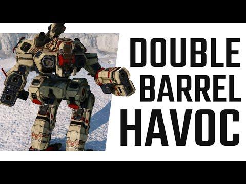 Double Barrel Havoc - Marauder II LB10X Build - Mechwarrior Online The Daily Dose #882