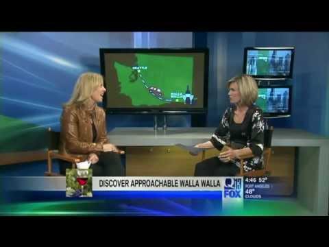 Q13FOX News Seattle: Hip Travel Mama Hits Walla Walla in Washington Wine Country