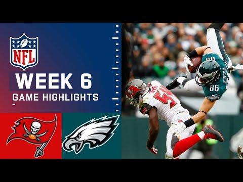 Tampa Bay Buccaneers vs Philadelphia Eagles Highlights HD | Week 6 NFL October 14, 2021