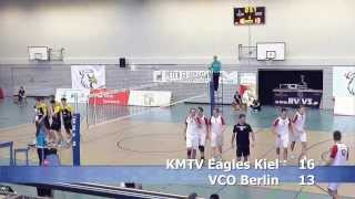 Volleyball 2. Bundesliga Männer, KMTV Eagles Kiel - VCO Berlin