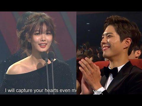 Park Bo Gum & Kim Yoo Jung - Asia Artist Awards 2016