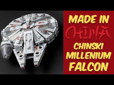 Chiński Han Solo?! Millenium Falcon z podróbki LEGO! Made in China czyli nerdowe zakupy z Aliexpress