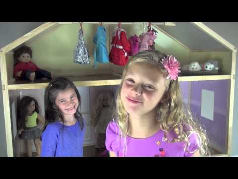 BG Review: Dollhouse for American Girls, Journey Girls and Our Generation - My Girls Dollhouse