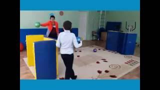 Урок физкультуры в классе с детьми с расстройством аутистического спектра