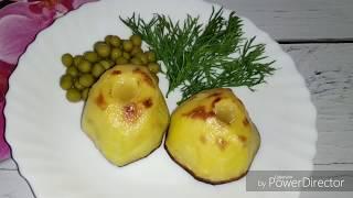 Картофель с маслом/Baked potatoes