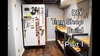 DIY Tiny Shop Build - Part 1