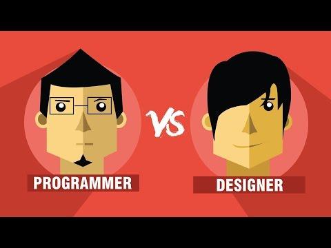 Programmer VS Designer