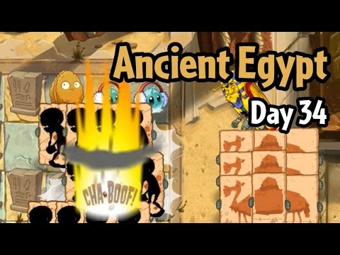 Plants vs Zombies 2 - Ancient Egypt Day 34: Camel Kaboom