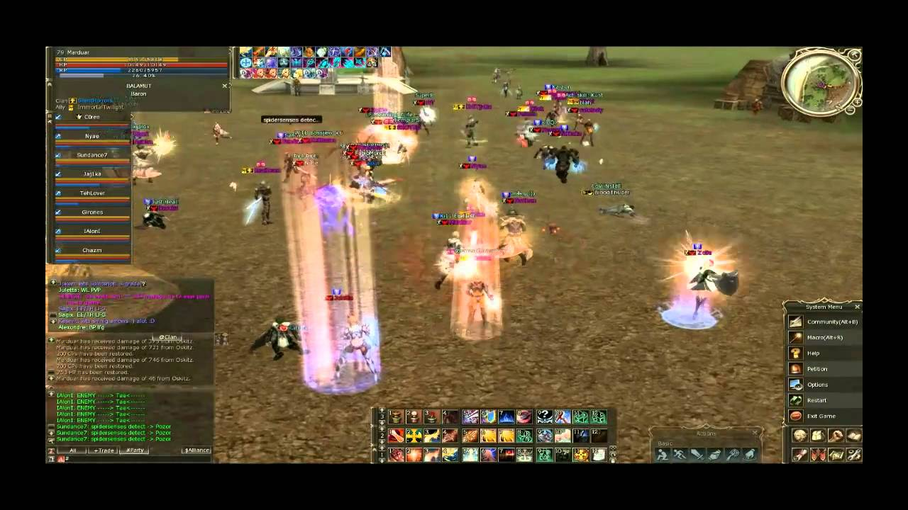 Marduar , Lineage 2 , Teon Server , Healing Power Part 1