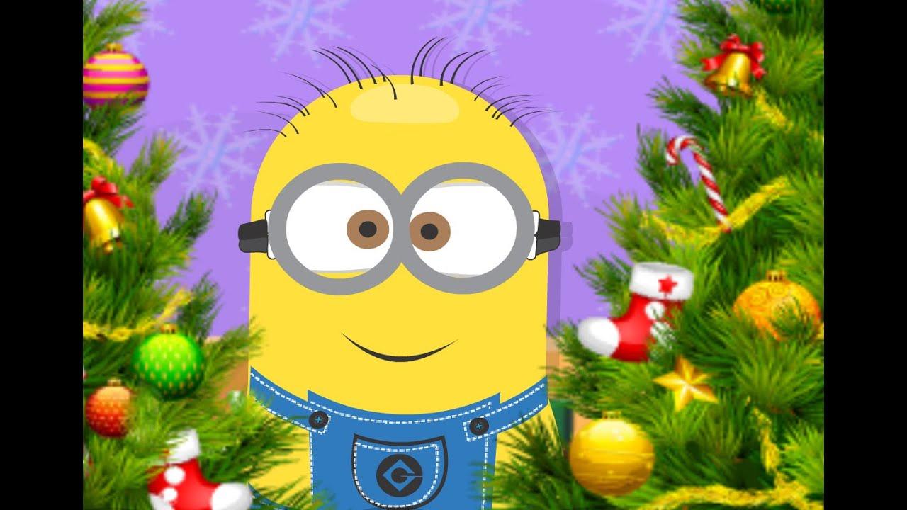 6 diff minion christmas tree game - Minion Christmas Tree